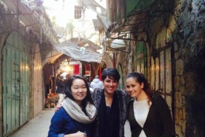 In the Old City of Hebron